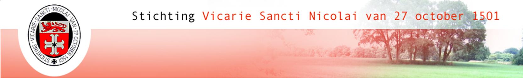 Stichting Vicarie Sancti Nicolai
